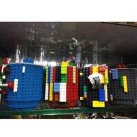 1Pc 12oz Build-On Brick Mug Type Building Blocks Coffee Cup DIY Block Puzzle Mug Portable Drinkware Drinking Mug 4 Colors 5
