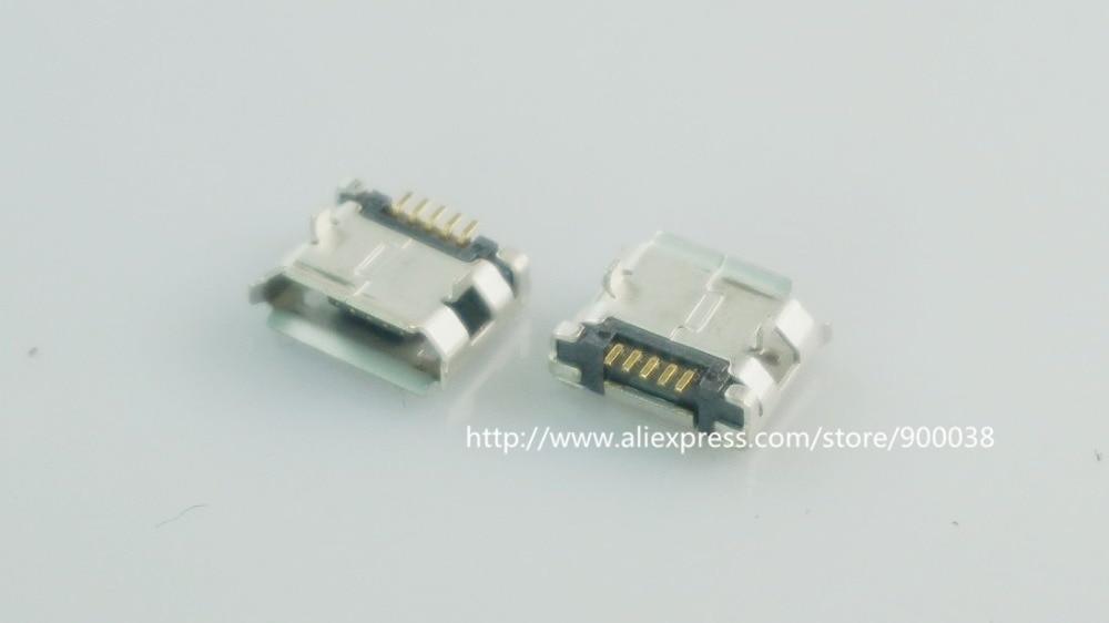 1x Micro USB-B 5P SMD Female Horizontal Socket//Printed Circuit Board Connector