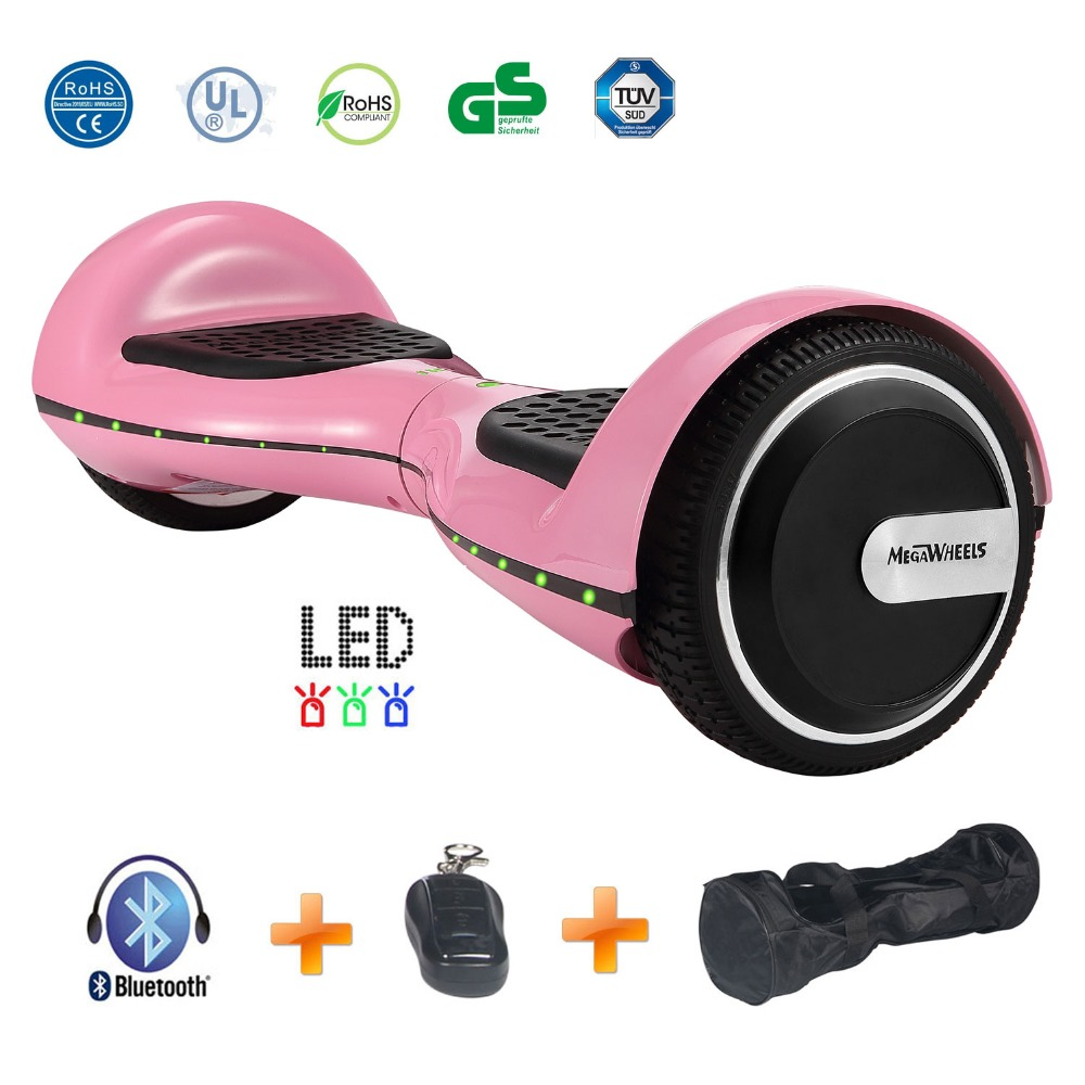 Hoverboard Electric Skateboard 6.5 inch hover board self balance scooter Gyroscooter CE RoHS Certified with Bluetooth Handbag