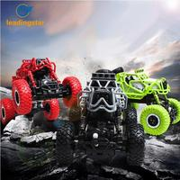 LeadingStar 4WD RC Car 2.4GHz Remote Control Car Rock Climbing Car 4x4 Double Motors Off Road Vehicle Bigfoot Toys for Children
