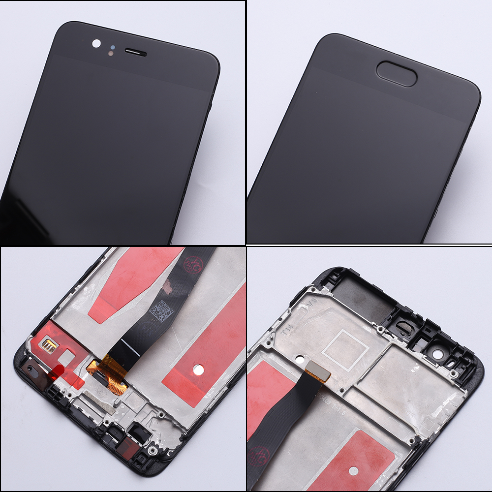 HUAWEI Original LCD Frame Touch-Screen P10 for P10-Display with Replace VTR-L09 -3 title=