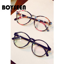 BOYSEEN Fashion Eyeglasses Prescription Glass Frame Women Ro