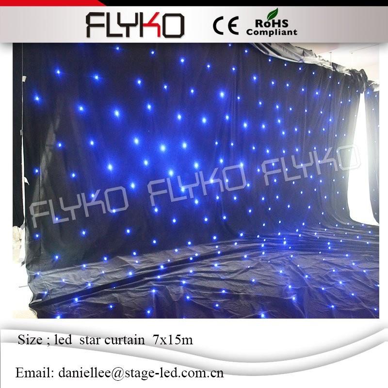 LED star curtain 763