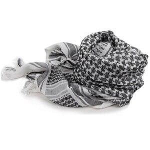 Image 5 - Airsoft Militär Shemagh Verdicken Moslemisches Hijab Multifunktions Taktische Schal Schal Arabischen Keffiyeh Schals Mode Schal Frauen