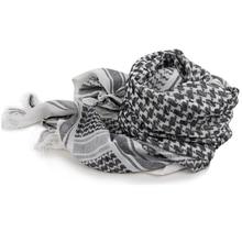Palestinian Shemagh Thicken Muslim Hijab Multifunction Tactical Scarf Shawl Arabic Keffiyeh Scarves Fashion Scarf Women