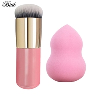 Bittb 2pcs Makeup Set Kit Cosmetic Puff Foundation ...