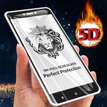 5D temperli cam Xiaomi Redmi için not 4X not 4 cam ekran koruyucu tam tutkal kapak Flim için Xiaomi Redmi 4X cam küresel