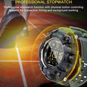 Image 5 - TimeOwner ساعة ذكية الرجال الإخطار عن التحكم مقياس الخطو الرياضة ووتش للماء الرجال ساعة اليد ساعة توقيت مكالمة SMS تذكير