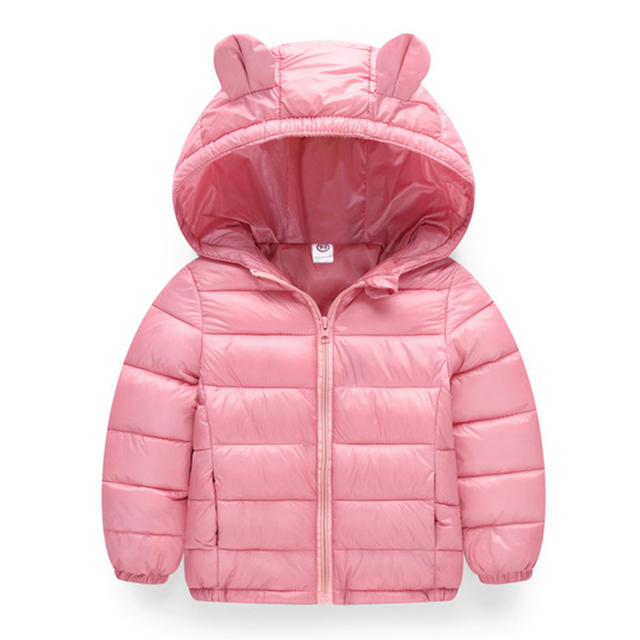 Winter Kids Outerwear Boys Girls Down Jacket New Year's Costumes For Boys Warm Baby Vest Child Fur Hooded Coat Clothing Clothes