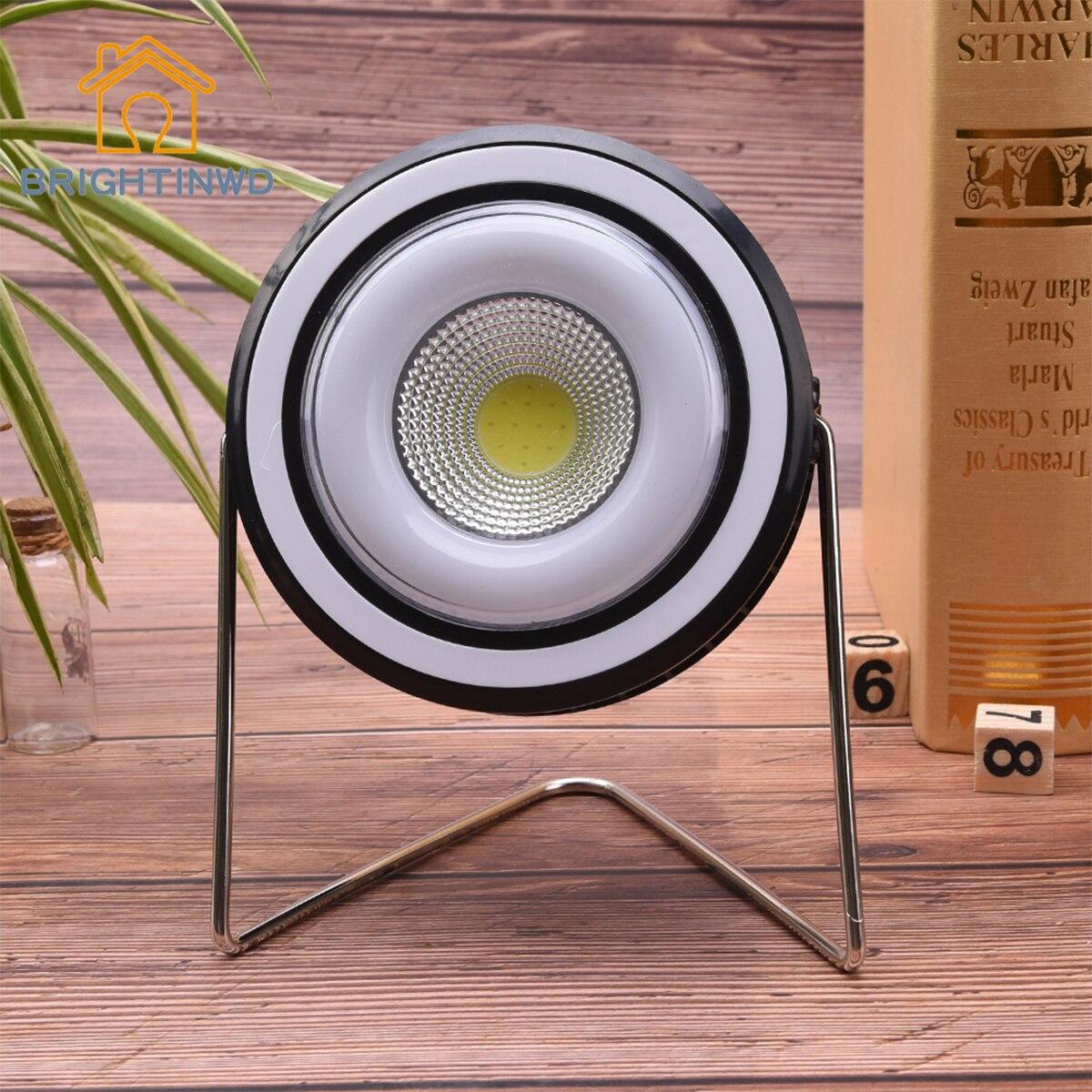 Emergency Spotlight 1pc LED Fan Light Outdoor Portable Hanging Tent Lamp USB Solar Charging Camping 3W COB LED Floodlight
