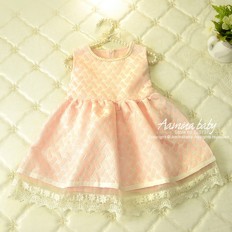 [Aamina] 2016 New Winter Dress For Girl Princess Girls Dresses Polka Dot Print Kids Clothes Casual Baby Clothing 2-6Y #2651212 2016 new polka dot girls summer dress childrens clothes party dresses bowknot sleeveless princess kids baby clothing