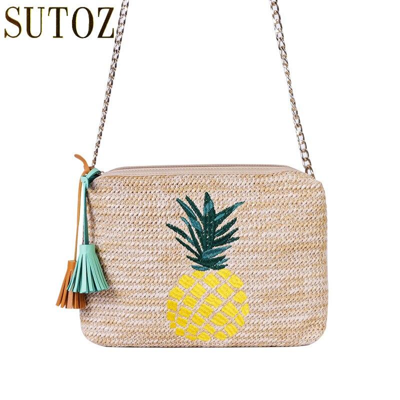 7f2748dfd2 Galeria de pineapple bag clutch por Atacado - Compre Lotes de pineapple bag  clutch a Preços Baixos em Aliexpress.com