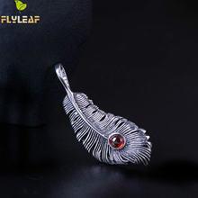 Длинные ожерелья и подвески из стерлингового серебра 925 пробы