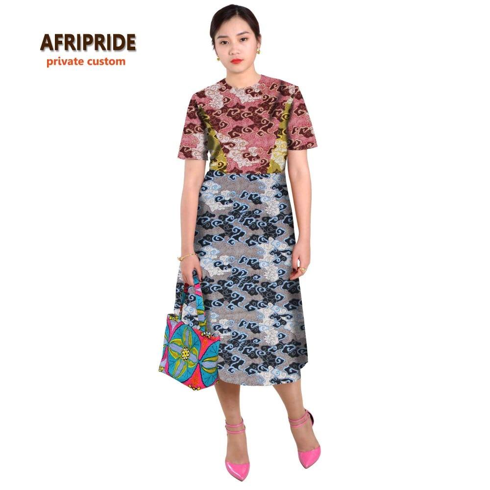 Afrikanska klänningar för kvinnor splitsning kjol sexiga stilar - Nationella kläder - Foto 3