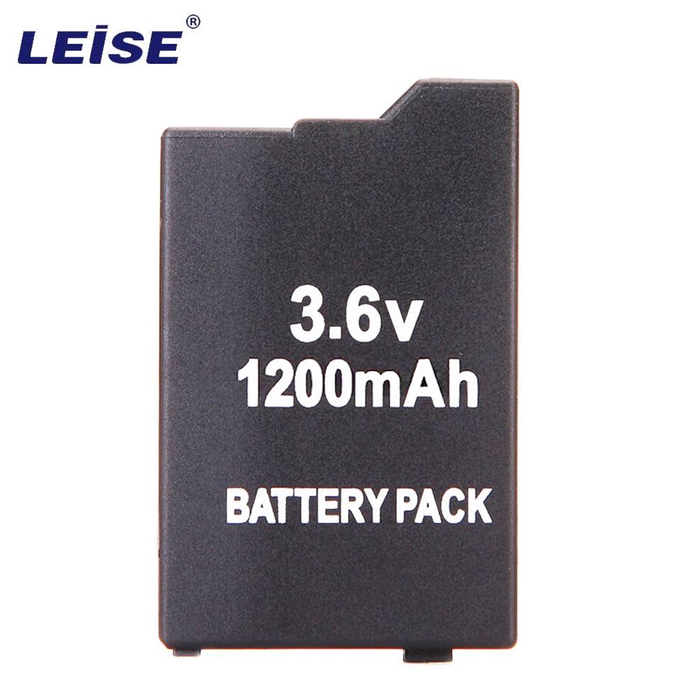 3pcs Leise Li-On battery For Sony Game controller 3.6V 1200mAh New Battery psp2000 psp3000 PSP 2000 3000 PSP3006/2006