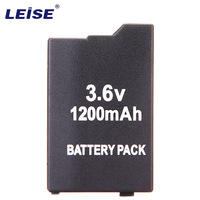 3pcs Leise Li On battery For Sony Game controller 3.6V 1200mAh New Battery For psp2000 psp3000 PSP 2000 PSP 3000 PSP3006/2006