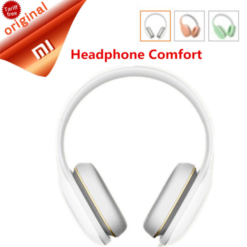 Original Xiaomi Mi Headphone Comfort In Stock 2017 Newest Xiaomi Mi Headphone With Mic Xiaomi Headset Noise Cancelling цена 2017