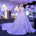 Vestidos De Noiva Renda Старинные Кружева Принцесса Свадебное Платье 2017 Бальное платье Белое Свадебное Платье Халат Де Mariage 2017 Casamento