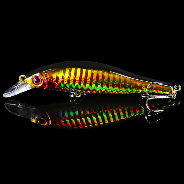 Minnow 1pc Fishing Lures 11.5g/9.8cm Hard Lure 5 colors Fishing Tackle 8# Hook Artificial Bait