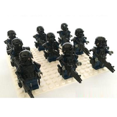 Спецназ, военное оружие, оружие, оригинальная мини-игрушка, спецназ, полиция, Аксессуары для оружия, фигурки