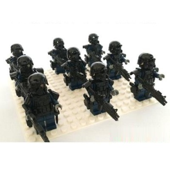 SWAT Military Against Terrorism  Military Weapons Guns Original Mini Toy Swat Police Weapons Accessories  Figures
