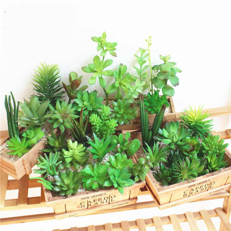 Moda artificial micro paisagem moda scindapsus vaso verde planta decoração jardim plástico diy escritório decoração de casa