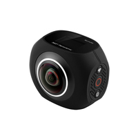 VR Dual Lens 360 Panoramic Camera Ultra HD 4K Panoramic Camera Built In WI FI 360