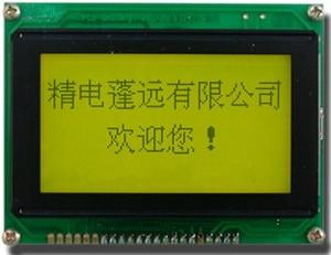 1PCS compatible with vp2001 VP2001-01 VP2001-03 VP2001-HT-LED04 128*64 Yellow Green KS0107 KS0108 22P NEW display 12864A REV.J