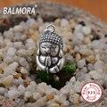 Vintage Real Pure 925 Joyas de Plata de La Manera Joyería Religiosa Buda Colgantes de Los Collares de Los Hombres Accesorios SY12358