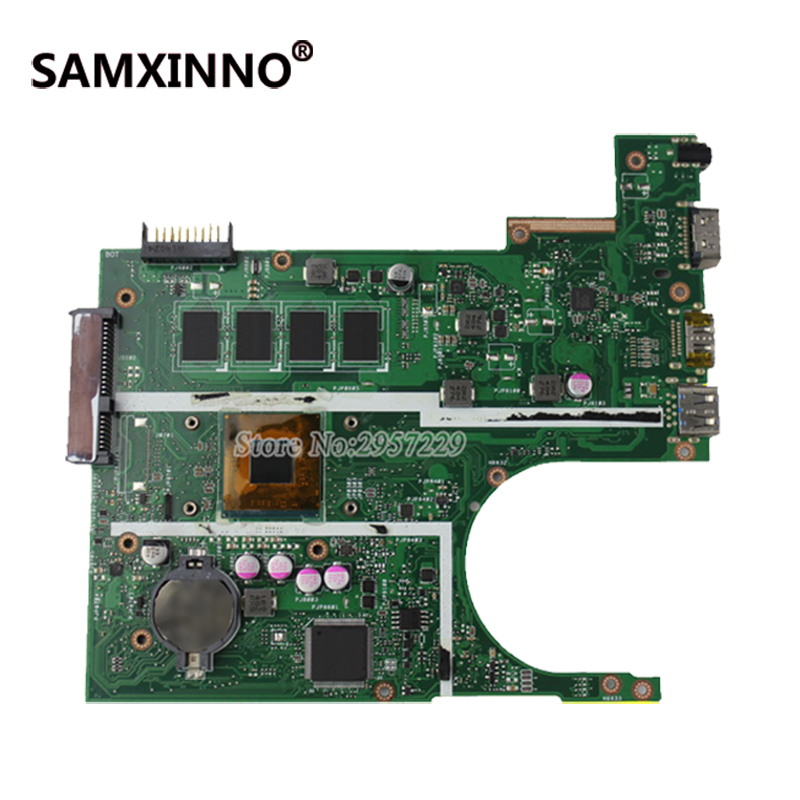 FOR ASUS Motherboard F200MA F200M X200M X200MA rev2.1 Mainboard With N3540U 4G Memory Test 100% Work for asus k200ma x200ma motherboard x200ma rev2 1 mainboard 4g memory on board n2815cpu 100