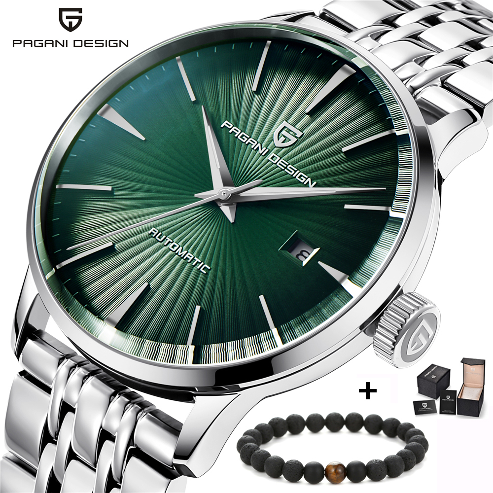 PAGANI DESIGN Top Brand Luxury 2018 New Mens Automatic Mechanical Watches Fashion Stainless Steel Band Waterproof WristwatchesPAGANI DESIGN Top Brand Luxury 2018 New Mens Automatic Mechanical Watches Fashion Stainless Steel Band Waterproof Wristwatches