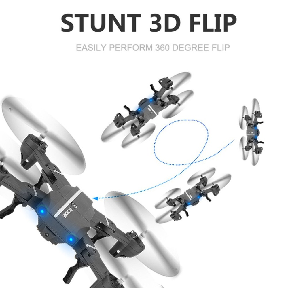 1080P HD Wifi Camera FPV Drone Remote Control Drone Folding Aircraft white version of the folding aircraft 1080p lens wifi fpv map transmission gps aerial drone intelligent remote control aircraft