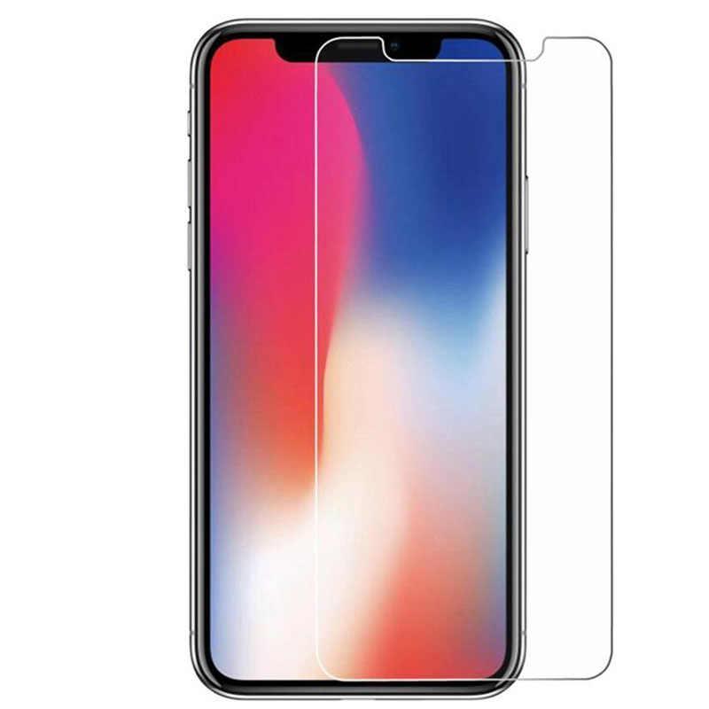 Vidrio templado para iPhone XS XR XS MAX Protector de pantalla funda para iPhone 8X7 6 6S Plus 5 5S SE XS 6,1 de 6,5 de 5,8 pulgadas 2019