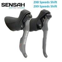 SENSAH Road Bike STI 2*8 2*9 Shifter Double 9 Speed Brake Lever Derailleur Bicycle Parts For Shimano Claris Sora