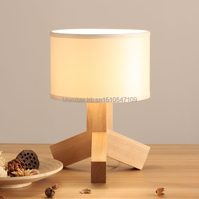 Home Made Lamps homemade decorative wooden table lamps / tripod reading table