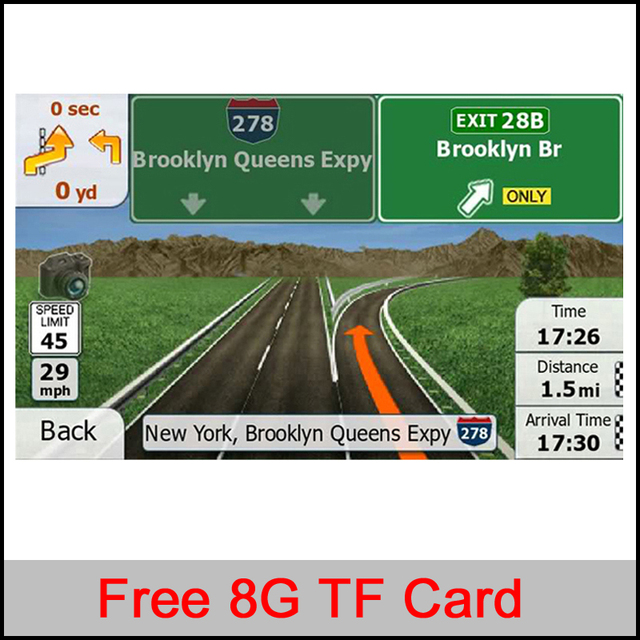 G Gps Maps Tfsd Card Latest Map For Winceandroid Car Gps Navigation