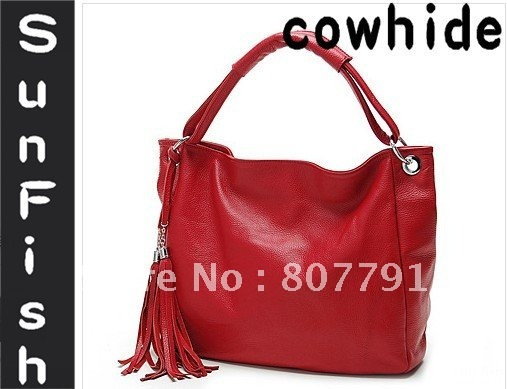 Fashion cowhide amphibious women bag