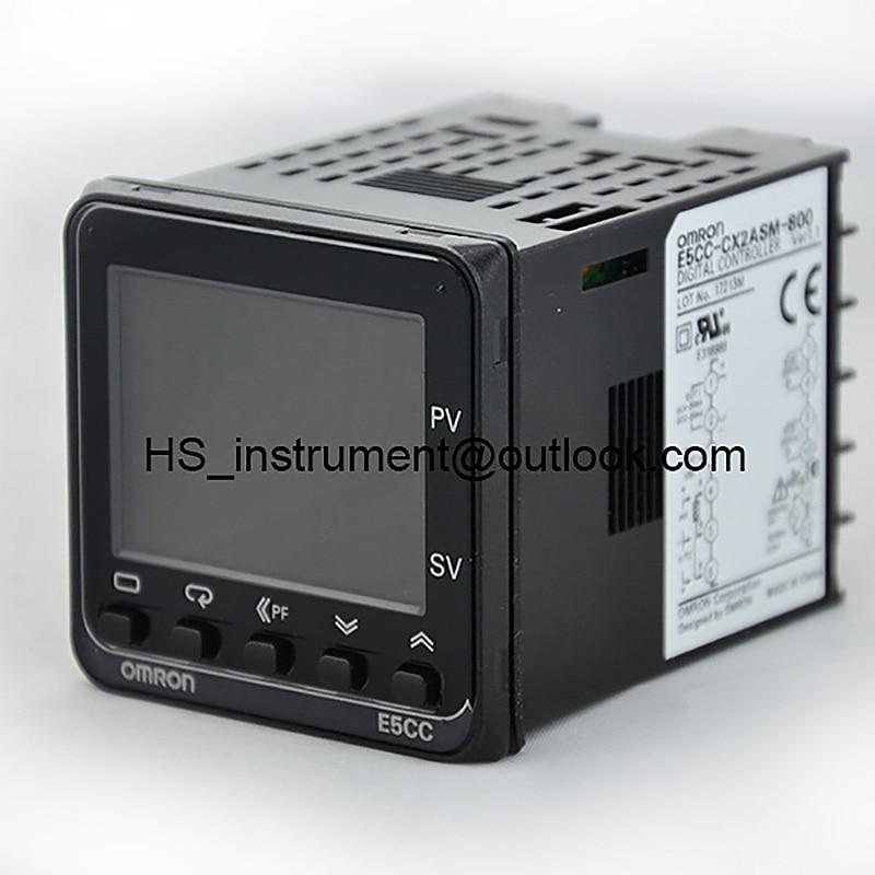 E5CC-QX2ASM-800 OMRON Temperature Controller E5CC QX2ASM 800 NEW&ORIGINAL asm 120t 2