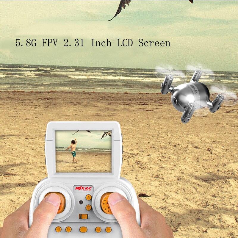 Drones con Cámara HD 5.8G 2MP Cámara FPV Transmisión de Vídeo en tiempo Real Rol