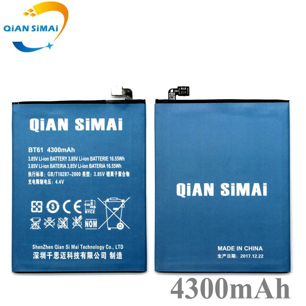 QiAN SiMAi 2017 New BT61 4300mAh Replacement Battery For Meizu M3 Note L681H L-version Baterij Bateria Batterie Mobile Phone