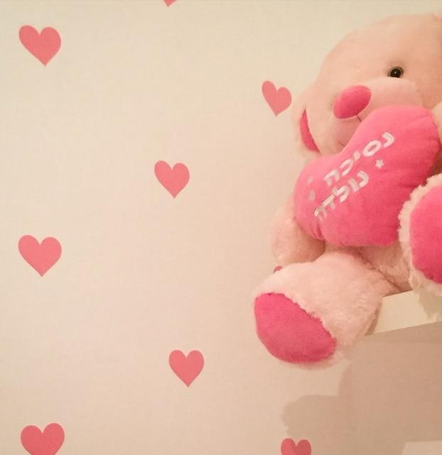 Мини Сердца Стикеры Стены, маленькие Сердца Наклейки На Стены Съемный дома Настенной Росписи Искусства украшения Детские Декор Бесплатная Доставка