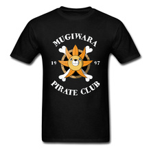 цены на One Piece T Shirt Men Tshirt Straw Hat Pirate Club T-shirt Summer Voyage Anime Tops Japan Comics Tees Zoro Luffy Printed Cute в интернет-магазинах