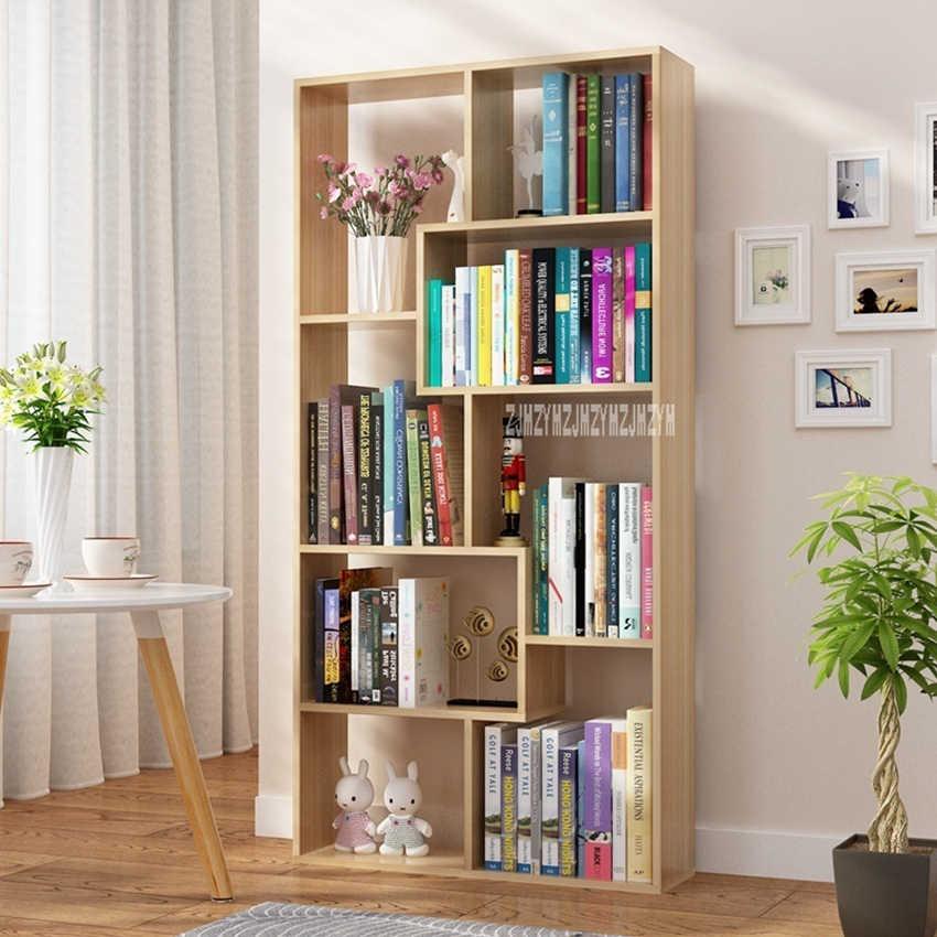 Zy 002 Children Simple Bookshelf Bedroom Modern Students Creative Land Bookcase Living Room Bookrack Multilayer Storage Cabinet Bookcases Aliexpress