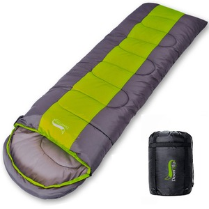 Image 2 - Desert & Vos Camping Slaapzak, lichtgewicht 4 Seizoen Warm & Koud Envelop Backpacken Slaapzak Voor Outdoor Reizen Wandelen