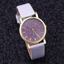 New Women Watches brand 2016 Women Ladies  Leather Band Analog Quartz Wrist Watch Quartz Watch Bracelet relogio feminino