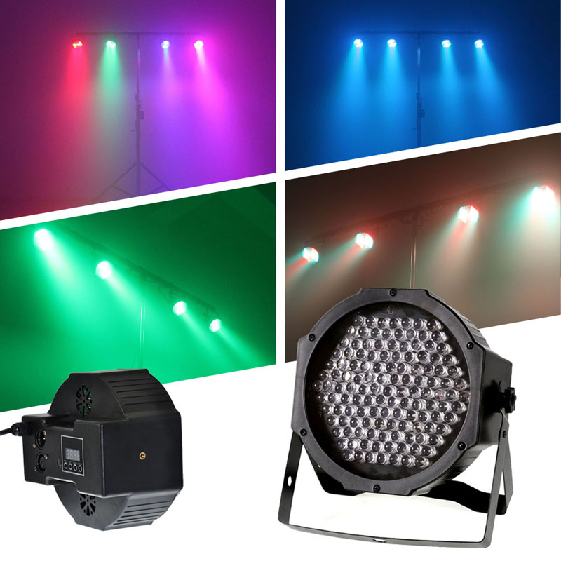 Party RGB LED Stage Lighting 127 Lights Stage Light DMX512 For Disco dj Party Effect Pattern Lights EU plug FEN# mini rgb led party disco club dj light crystal magic ball effect stage lighting