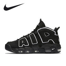 buy popular 9118c b6a12 Nike Air More Uptempo Men s Breathable New Arrival Authentic Basketball  Shoes Sports Sneakers(China)
