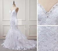Robe de Mariee Sexy Backless Mermaid Wedding Dresses Bead Wedding Gowns Bridal Dress 2018 hochzeitskleid