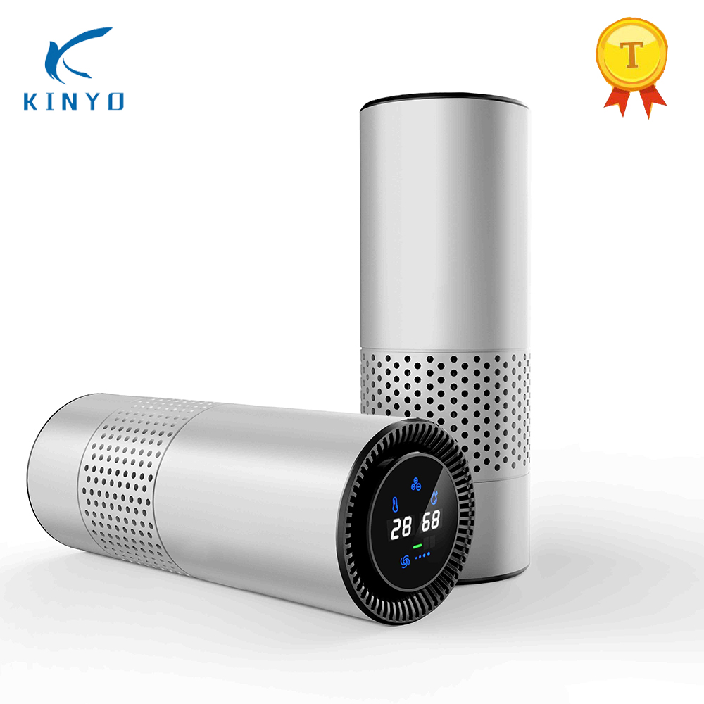 New Design Kinyo KY-PC8 Car Air Purifier Air Freshener To Remove Formaldehyde Pm2.5 Haze Negative Ion Purifier For Home For GIFT new intelligent gesture control air purifier 8w low power car air cleaner negative ions air freshener remove formaldehyde pm2 5