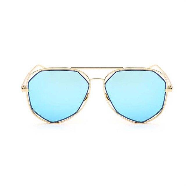 Polygonal Luxury Sunglasses Women s Casual Simple Fashion Sunglasses Retro  Border Design Uv400 Free Shipping Sale 2d66e3249a0e
